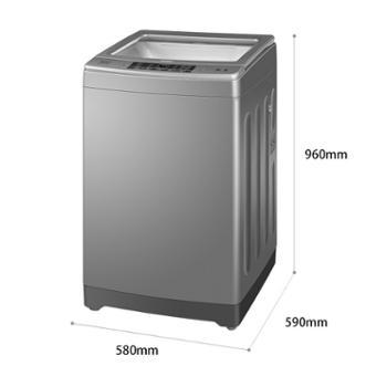 海尔/Haier幂动力10公斤定频波轮洗衣机全自动家用EB100F959U1