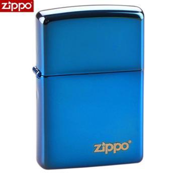 ZIPPO打火机蓝冰标志20446ZL