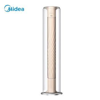 【德百】美的MideaKFR-51LWBP3DN8Y-YB308(B1)51、72立柜式圆柱变频冷暖家用客厅