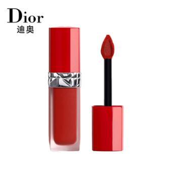 Dior迪奥口红全新款唇釉烈艳蓝金挚红液体唇膏