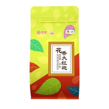 中茶海堤茶叶大红袍 乌龙茶 轻火型花香显 袋装散装50克 XT5912(二级)