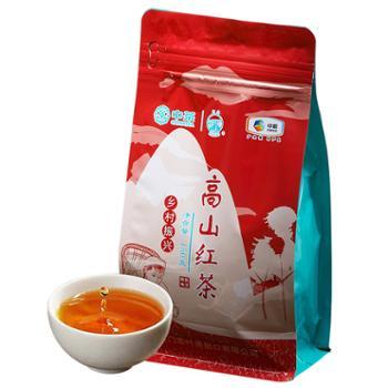 中茶海堤茶叶简装高山红茶口粮茶150g/袋
