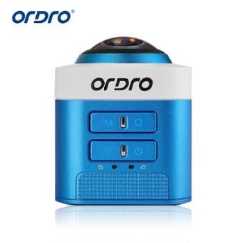 欧达/Ordro 高清360度7玻镜片全景运动相机摄像机自驾 D5