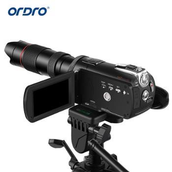 ordro欧达 TX-13摄像机配件望远镜12倍12X单筒镜头