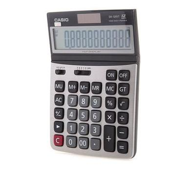 Casio卡西欧DX-120ST办公计算器中号可调节显示屏