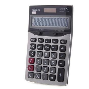 Casio/卡西欧AX-120S办公计算器日常商务