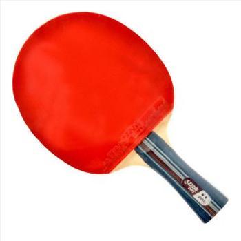 红双喜横拍双面反胶乒乓球拍弧圈结合快攻2星赠拍套X2002(A2002)【新老包装随机发】1支
