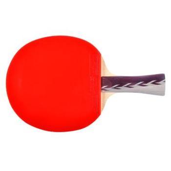 红双喜横拍双面反胶乒乓球拍弧圈结合快攻4星X4002(A4002)1支