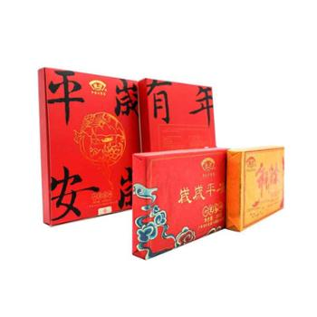 """金益茶业""""岁岁平安、年年有余""""组合礼盒250g*2砖/盒广西黑茶"""