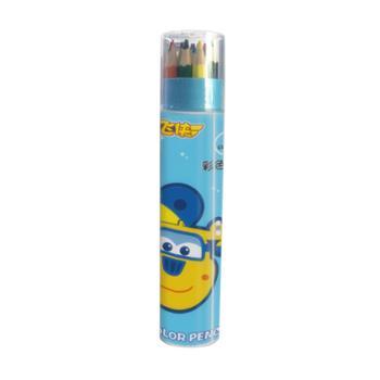 超级飞侠彩色铅笔3件套MP-QB01