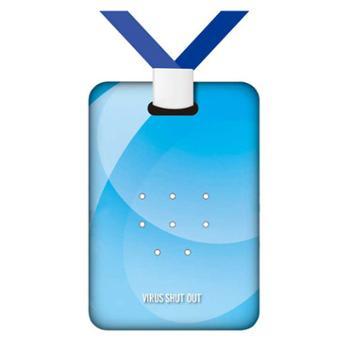 TOAMITVIRUSSHUTOUT防病毒除菌卡防细菌流感消毒抑菌便携卡袋