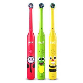拜尔儿童电动牙刷充电式声波小孩宝宝软毛自动牙刷神器3-6-12岁