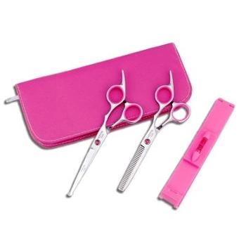儿童安全理发剪刀 宝宝 婴儿圆头防刮伤美发剪家用剪发套装