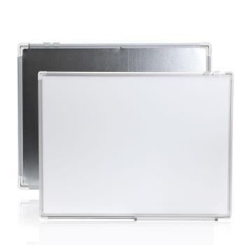 90*120单面磁性教学大白板挂式家用办公室会议培训看板儿童涂鸦壁挂式写字板黑板墙留言记事小白班大黑板定制