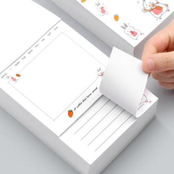 名马文具一日一作可撕便签本小本子 便携记事便利贴加厚便签纸本多功能备忘录记事贴学生用便利贴大号