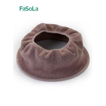 日本FaSoLa纯棉马桶垫坐垫家用冬季加厚通用坐便器垫马桶圈马桶套