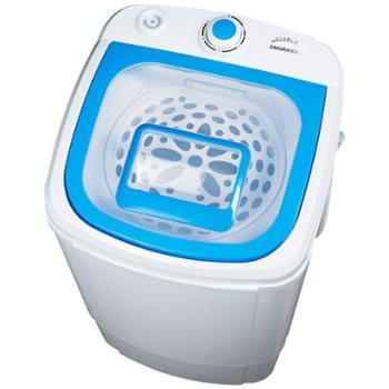 Sakura/樱花9.8公斤脱水机 家用宿舍小型甩干机 单甩干桶脱水机