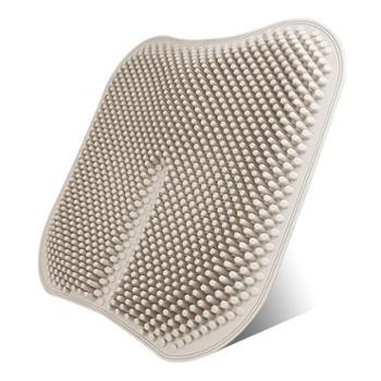 硅胶汽车坐垫单片制冷凉垫单座通风透气夏季防烫无靠背3D通用座垫
