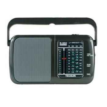 Tecsun/德生 R-404便携式全波段插电收音机老人半导体老年人广播台式调频调幅大多功能多波段仿古大型随身老