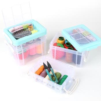 家用针线盒套装便携式多功能缝纫针线包缝纫针线手缝针女学生宿舍
