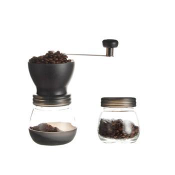 hero磨豆机 咖啡豆研磨机 家用磨粉机 手摇磨咖啡器具 送清洁刷
