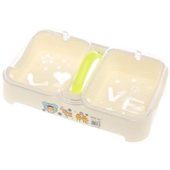 浴室大号翻盖双格欧式肥皂盒创意带手提防水带盖肥皂垫手工皂盒