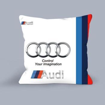 汽车抱枕被子两用折叠空调宝马别克午睡办公室车标枕头多功能靠垫