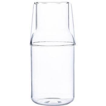 tinyhome日式创意高硼硅玻璃一壶一杯套装玻璃杯冷饮杯茶杯果汁杯