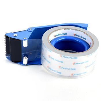 创易封箱器4.8/6CM大号透明胶带切割器仓库宽胶布打包机金属