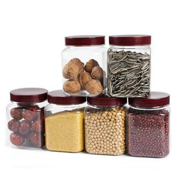 五谷杂粮收纳盒塑料瓶子透明食品豆子干果厨房储物储存罐子密封罐
