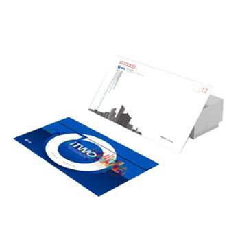 信封定制可印刷logo烫金二维码企业定做创意设计制作