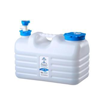 NH户外饮用纯净水桶PE食品级装矿泉水桶塑料储水箱车载家用储水桶