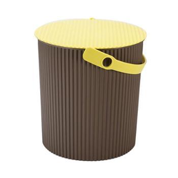 塑料加厚可坐家用钓鱼桶手提洗澡篮洗车桶幼儿园收纳桶带盖水桶凳