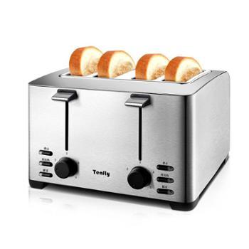 TenflyTHT-3012B烤面包机家用4片早餐多士炉土司机全自动吐司机