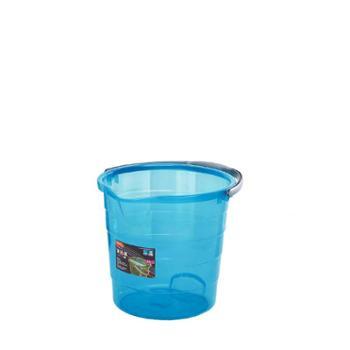 龙士达 大容量加厚手提透明塑料水桶家用储水便携