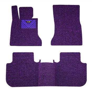 踏踏美汽车丝圈脚垫专车专用定制地毯式车垫子通用款