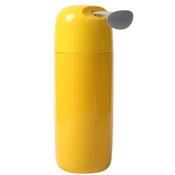 Face 保温杯316不锈钢可爱简约大容量便携水杯