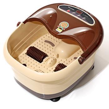 约克 足浴盆全捂脚按摩洗脚盆电动加热足疗家用