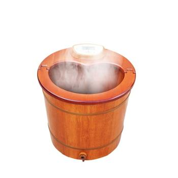 jhk/家禾康 泡脚桶木桶足浴盆器全自动洗脚盆电动按摩加热高深桶