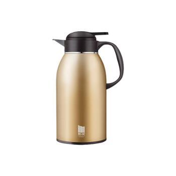 物生物姿韵不锈钢保温壶大容量暖瓶热水瓶2.2L