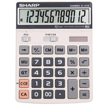 夏普EL-8128计算器