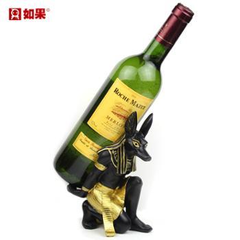 如果树脂红酒架摆件EB0G04