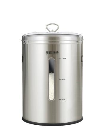澳诺恩特304不锈钢米桶KM-Y08(12KG)