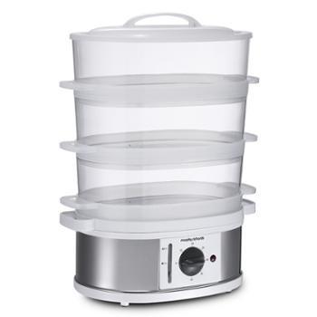 摩飞电蒸锅MR1148三层家用蒸菜蒸鱼电热锅