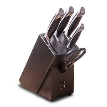 张小泉启航厨房刀具六件套