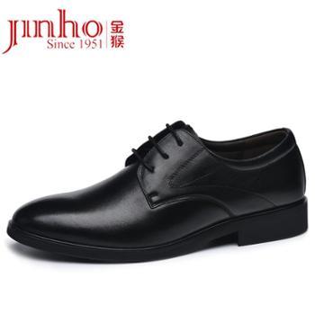 金猴Jinho时尚透气耐磨系带男单鞋Q20039A