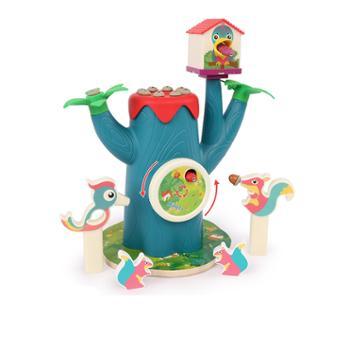 铭塔宝宝钓鱼玩具啄木鸟捉虫玩具