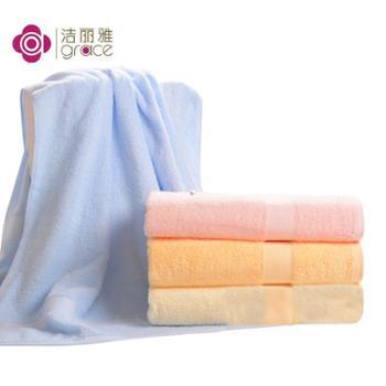 洁丽雅全棉加厚浴巾E2063#1条