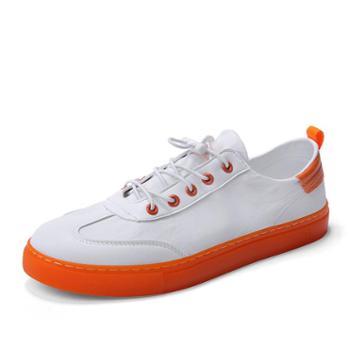 韩版潮流休闲板鞋男青少年学生经典布鞋 a5821