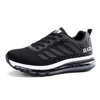 欧美时尚潮男鞋舒适百搭飞织气垫鞋男女休闲运动鞋 WK833